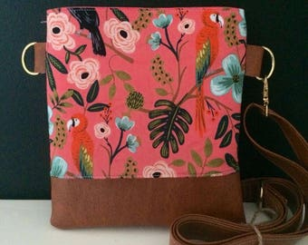 Coral Paradise Crossbody (Rifle Paper Co.)