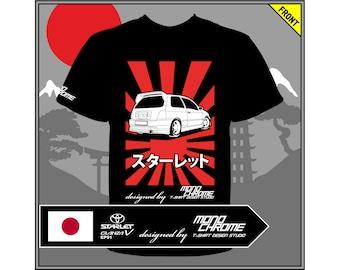 T-shirt Toyota Starlet Glanza V EP91