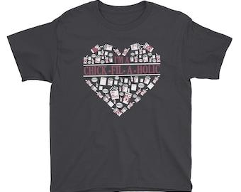 Chick-Fil-A-Holic Youth Short Sleeve T-Shirt