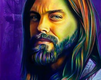 Jesus 11 x 14 Print