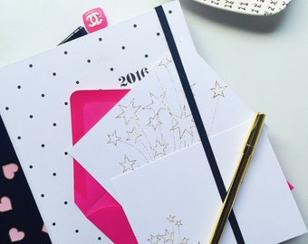 Seeing Stars Stationery Set | Thank You Notes - Star Note Cards - Note Card - Blank Thank You Notes