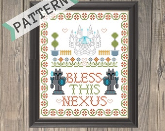 Bless this Nexus - League of Legends Cross Stitch Pattern - Instant Download