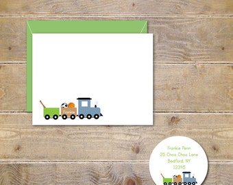 Baby Thank You Cards . Baby Shower Thank You Cards . Trains . Sports . Boy - Sports Train
