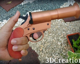 Mad Max: Fury Road Furiosa Hand Cannon 3D Printed Prop