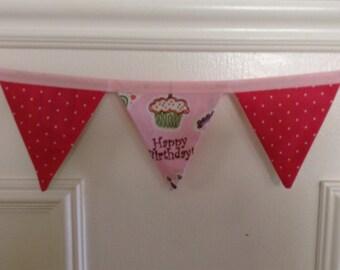 Happy Birthday Banner/Pennant