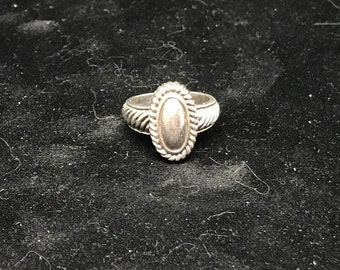 Vintage Sterling Silver Ring MARKED Size 6