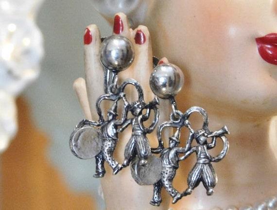 Coro Earrings /Circus / Marching Band