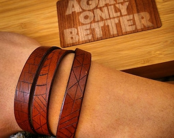 Sliced Multiwrap Bracelet