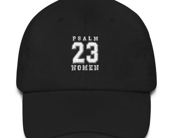 Psalm 23 hat - The Lord is my shepherd