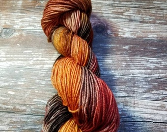 100% superwash merino   100g 245 yards dk weight  Hand dyed yarn indie dyed yarn