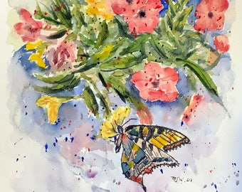 Butterfly (Original Watercolor Painting)