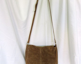 Suede Boho Crossbody bag with Tassels