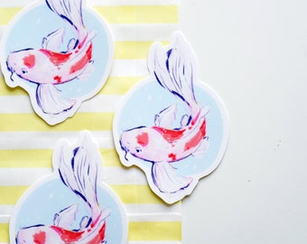 Koi Vinyl Sticker