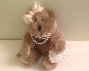 Vintage Stuffed Teddy Bear Vintage Bear Vintage  Stuffed Bear