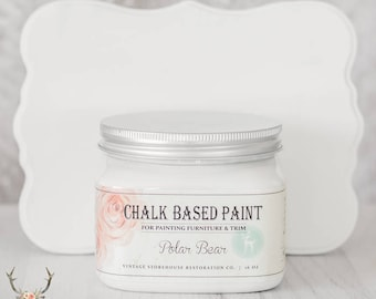 Vintage Storehouse Chalk Based Paint - Polar Bear