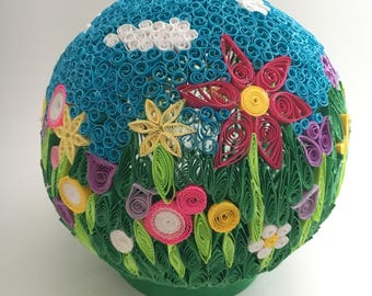 SALE - Paper Quilled Sphere