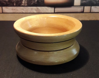 Yellowheart Wood Bowl