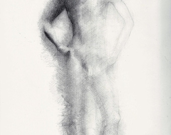 Male Nude Pencil