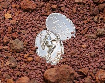 Dejah Thoris Silver Coin of Mars
