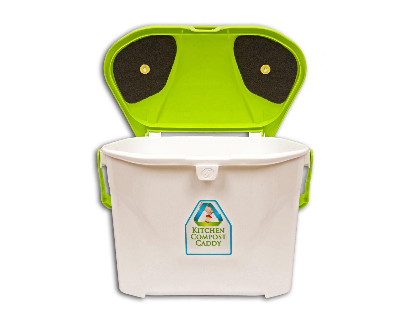 Küche Kompost Caddy belüftet Kompost-Eimer mit