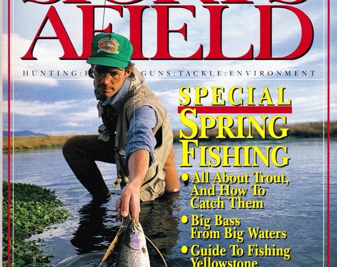 Vintage Sports Afield Magazine April 1991