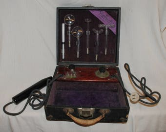 1925 antique CURE-ALL RENULIFE model M Violet Ray Generator 110 volts
