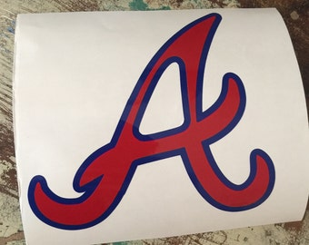 Atlanta Braves Decal