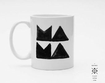 Ξ cupcup | tasse | mama block design | muttertag | familie | familiengeschenk | mama und papa