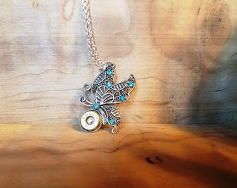 Decorative Butterfly pendant with ammo center!