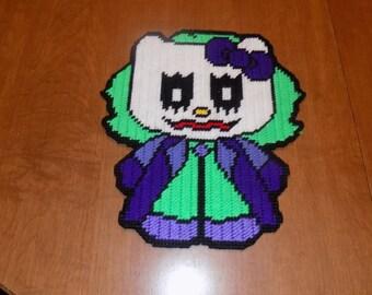 Joker hello kitty wall hanging