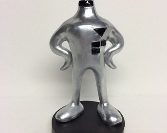 Starman Figurine inspired by the Earthbound series
