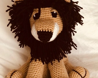 Custom* Crochet Lion