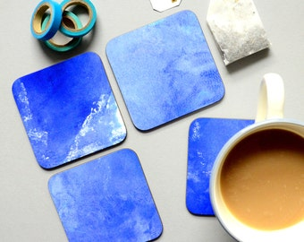 The Colour Collection - Blue Coasters
