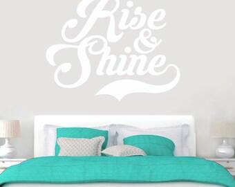 Rise & Shine - Wall Decal