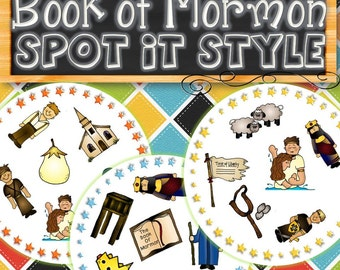 BofM Spot It Style Find the Match - INSTANT DOWNLOAD