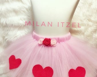 Valentine's Day, valentine outfit, valentine tutu, Queen of Hearts, tutu, vday skirt, dressup, baby photography, Valentine's Day photoshoot,
