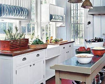 Kitchen dish rack plate racks pantry shelf storage Summer window illuminated shelving cabinet insert open display : plate rack display - pezcame.com