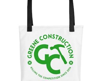 Greene Construction Tote bag