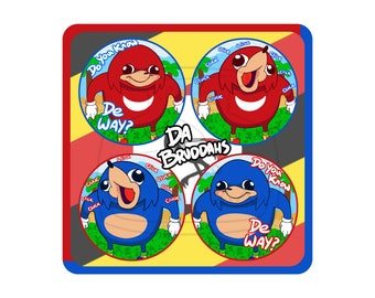 Ugandan Knuckles Buttons
