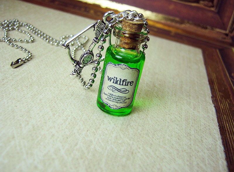 glass ocean product bottle pendant ethsy com