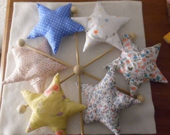 Mobile pattern soft color star