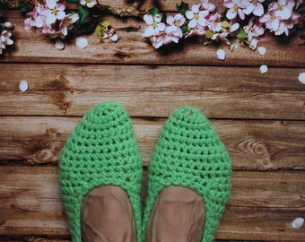 Knitted Slippers Socks Soft Slippers Women's Slippers House slippers Wool slippers Fun slippers Warm slippers Indoor Babouche slippers