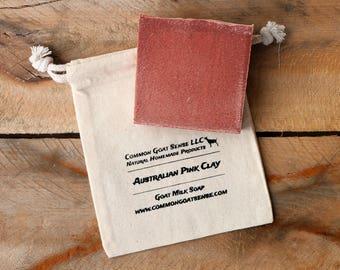 Australian Pink Clay Goat Milk Soap