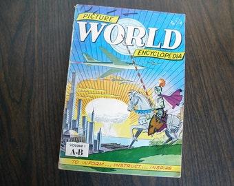 Rare Collectible,  V1 - Picture World Encyclopedia (1959)
