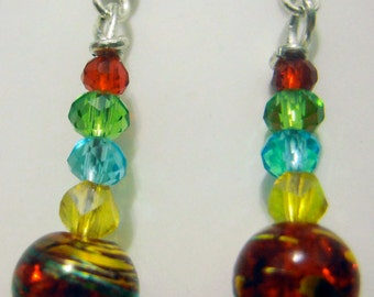 Sixth Doctor Earrings