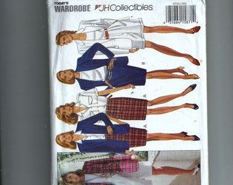Butterick Misses' Jacket, Skirt, and Shorts Pattern 6710