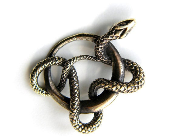Bronze pendant serpent snake pendant serpent pendant bronze like this item mozeypictures Image collections