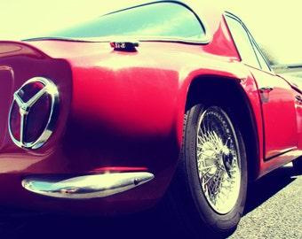 1968 TVR Vixen- Rustic Wall Art - Classic Car Art Print - Retro Print - Vintage Car Photography - Garage Art~Mdogstudios~