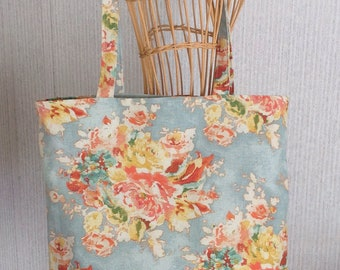 Market tote reusable grocery tote