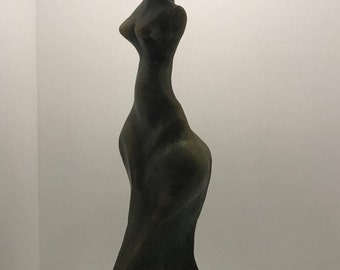 Sculpture of burnt clay